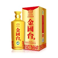 GT3003国台·金国台,500ml/瓶,53%vol,6瓶/箱