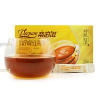 1196帝泊洱茶珍柠檬红茶珍(50袋商超版纸盒) 0.5g*50袋 15盒/箱